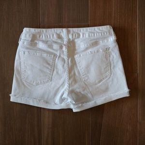 Arizona Jean Company Shorts - Arizona Juniors White Denim Shorts Size 7 EUC